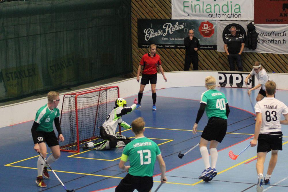 LASB/SCU Kauniaisten Palloiluhallissa ke 30.10.